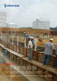FROST HEAVE PREVENTION - Pentair Thermal Management