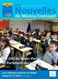 Les Nouvelles de mars - Ville de Moissy-Cramayel
