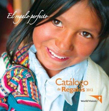 CATALOGO DE REGALOS - World Vision International