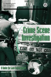 Crime Scene Investigation: A Guide for Law Enforcement - FBI
