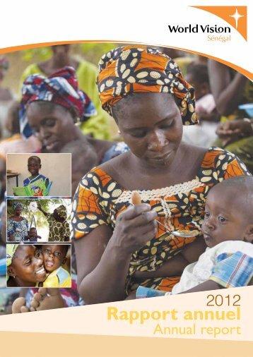 Rapport annuel - World Vision International