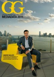 Mediadata 2011 - Global Guide - Lifestyle - Personalities - Real Estate