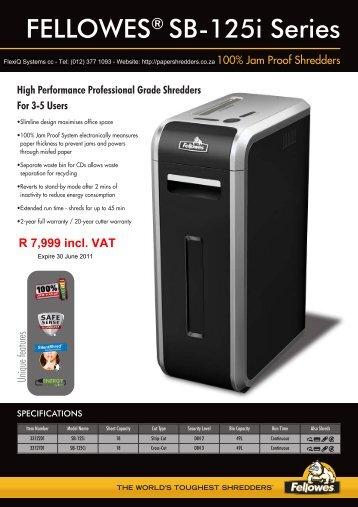 Intellishred SB-125i.pdf - Shredder