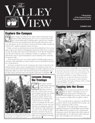 ValleyView200906Summer - Hopewell Valley Regional School District