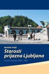 IAT, Starosti prijazna Ljubljana - Inštitut Antona Trstenjaka