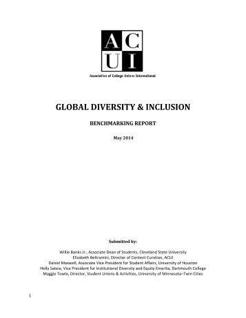 DiversityInc Benchmarking