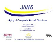 200: Aging of Composite Aircraft Structures