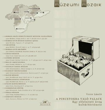 veres lászló: a pincetokba való palack - Herman Ottó Múzeum