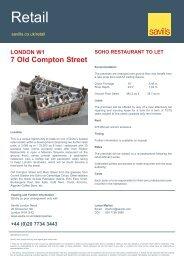 soho restaurant to let - FOCUS