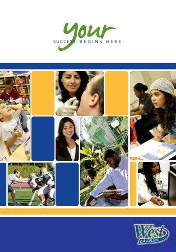 see brochure - West Los Angeles College