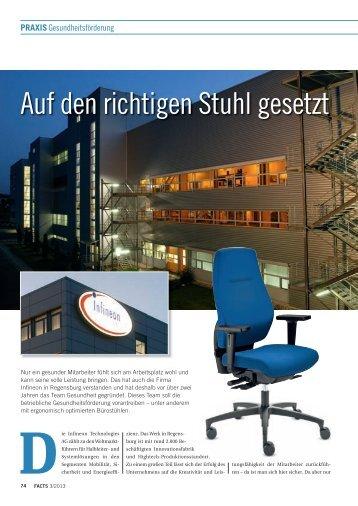 Auf den richtigen Stuhl gesetzt - FACTS Verlag GmbH