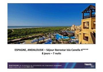 SEJOUR ANDALOUSIE - Iberostar Isla Canela 4 - Prometour