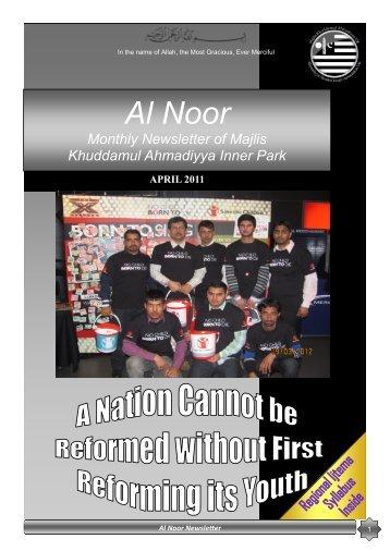 Al Noor - Majlis Khuddamul Ahmadiyya UK Majlis Khuddamul ...