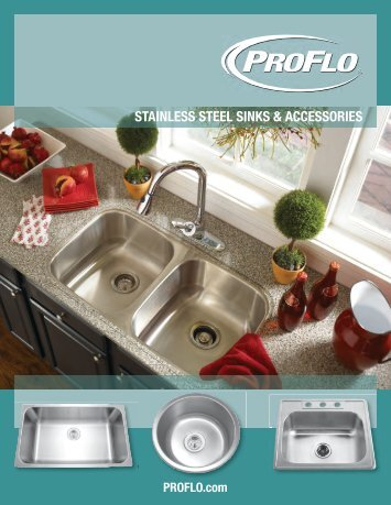 Stainless Steel Sinks - ProFlo