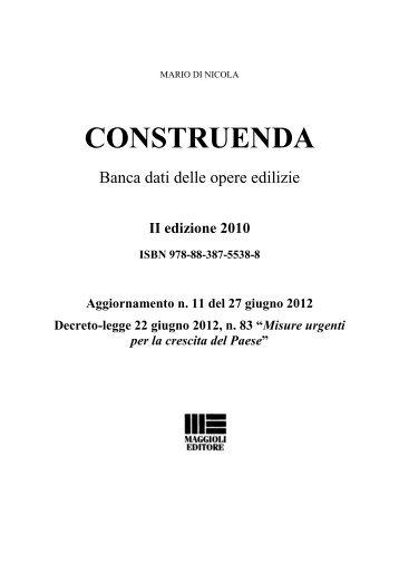 Aggiornamento al D.L. 22 giugno 2012, n. 83 - Maggioli