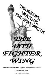 Published by the 48th Fighter Wing History Office ... - RAF Lakenheath