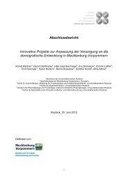 Abschlussbericht Innovative Projekte zur Anpassung der ...