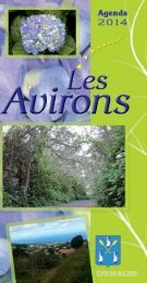 les Avirons 2013 - redac - Les Agendas des Mairies