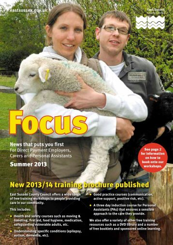 Focus December 2012 - East Sussex County Council