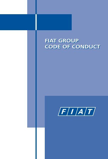 FIAT GROUP CODE OF CONDUCT - Irisbus