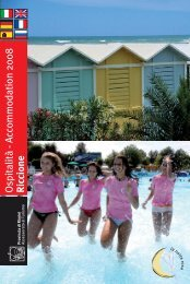 Ospitalità - Accommodation 2008 Riccione