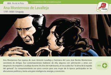 Ana Monterroso de Lavalleja - Manosanta
