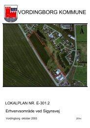 Lokalplan - Vordingborg Kommune