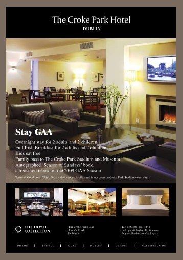 Stay GAA - Croke Park