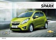 und Preisliste - Chevrolet Deutschland Gmbh