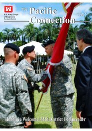 Pacific Connection The - Honolulu District - U.S. Army
