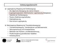 10.11.2011 - Institut für Raumfahrtsysteme - Universität Stuttgart