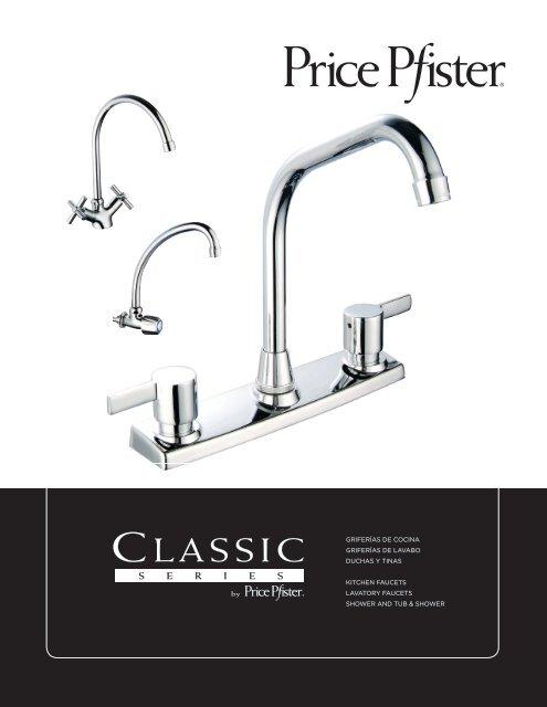griferías de cocina griferías de lavabo duchas y tinas kitchen faucets ...