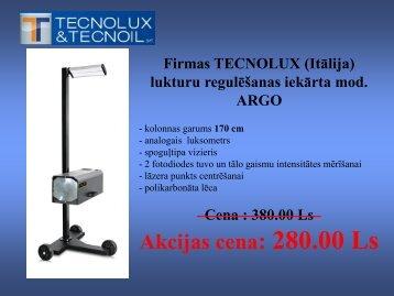 Technolux lukturu regulēšanas iekārtu piedāvājums - MC Rolls