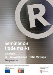 Seminar on trade marks