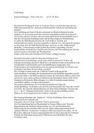 Fortbildung: Kompositfüllungen – State of the Art bei W.-M. Boer Der ...