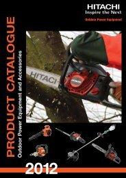 OPE range booklet - Hitachi