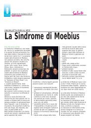 La Sindrome di Moebius - Diagnosi e Terapia