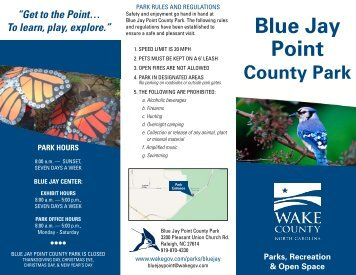 Blue Jay Point - Wake County Government