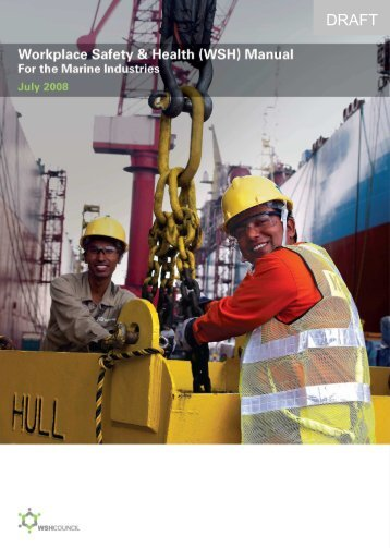 WSH Manual for the Marine Industries - Workplace Safety and ...