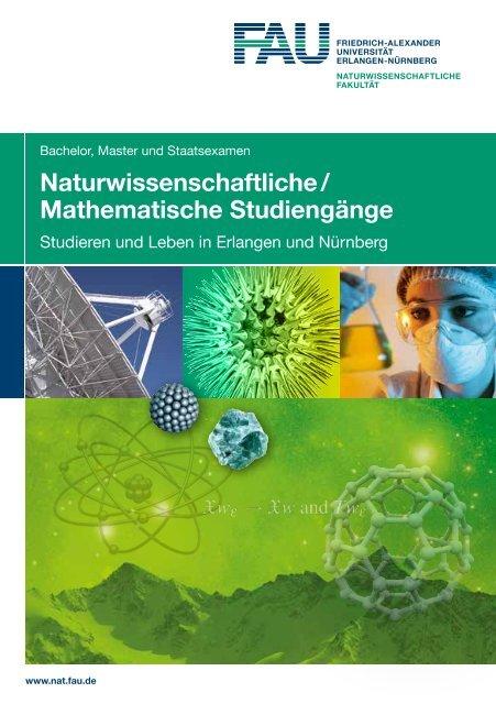 Naturwissenschaftliche / Mathematische Studiengänge
