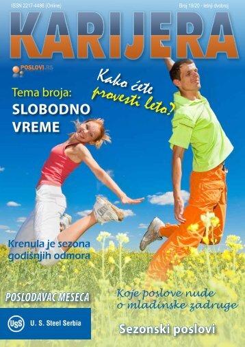 Magazin Karijera - PDF - Poslovi.rs