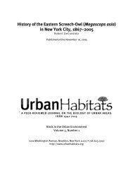 History of the Eastern Screech-Owl (Megascops ... - The Owl Pages