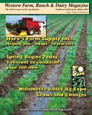 Harv's Farm Supply Inc. - Ritz Family Publishing, Inc.