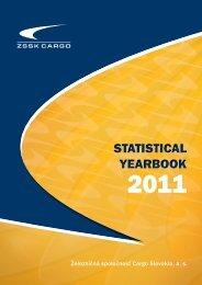 STATISTICAL YEARBOOK STATISTICAL YEARBOOK - ZSSK Cargo