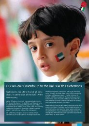 Our 40-day Countdown to the UAE's 40th Celebrations