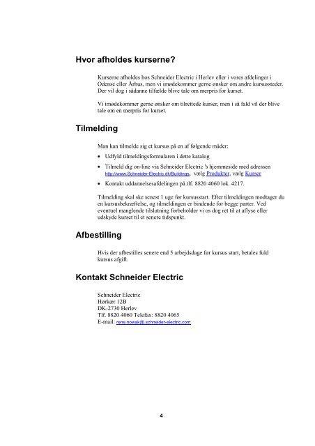 Download kursuskatalog 2012-2013 (pdf; 462KB) - Schneider Electric