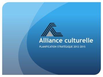 Recrutement des bénévoles - Alliance culturelle