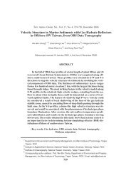 Velocity Structure in Marine Sediments with Gas Hydrate Reflectors ...