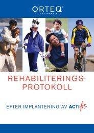 REHABILITERINGS- PROTOKOLL - Orteq