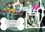 SVA 2012 Annual Conference